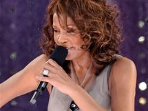 Whitney Houston v Central Parku v New Yorku a její dcera Bobbi Kristina Brown