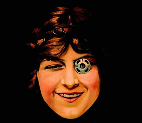 Dívka s patentním knoflíkem od malíře Františka Kupky se stala základem pro logo pražského Koh-i-nooru.