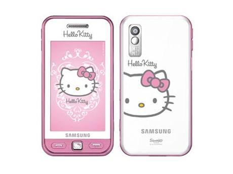 af42de238 Dotykový Samsung Star nově i s kočičkou Hello Kitty - iDNES.cz