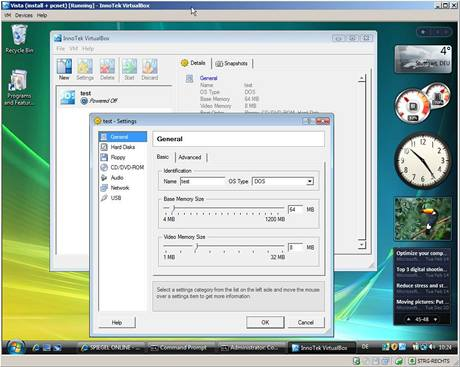 VirtualBox s Windows 7
