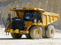 Dampr Caterpillar 775F