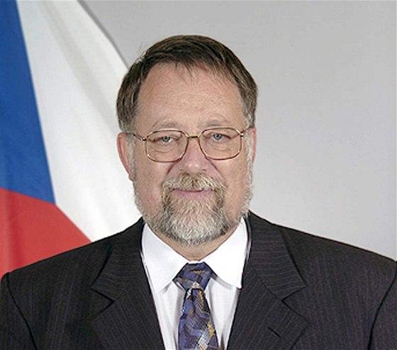Tjeckiska ambassadören i Ukraina, Jaroslav Bašta.