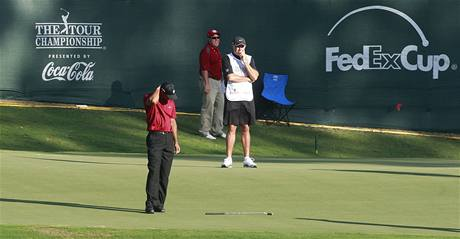 The Tour Championship 2009 - Tiger Woods, 4. kolo.