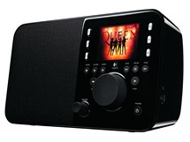 Rádio Logitech Squeezebox hraje Queen
