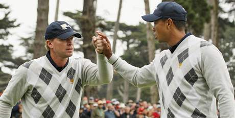 Steve Stricker, Tiger Woods, Presidents Cup