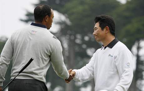 Tiger Woods, Y.E. Yang, Presidents Cup