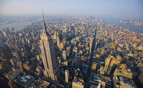 USA, new York, Manhattan, Empire State Building