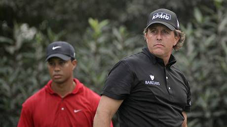 Phil Mickelson, Tiger Woods, HSBC Championship