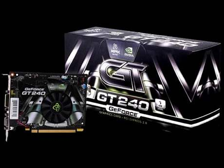 nVidia GeForce GT 240