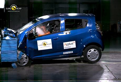 Crashtest Chevrolet Spark