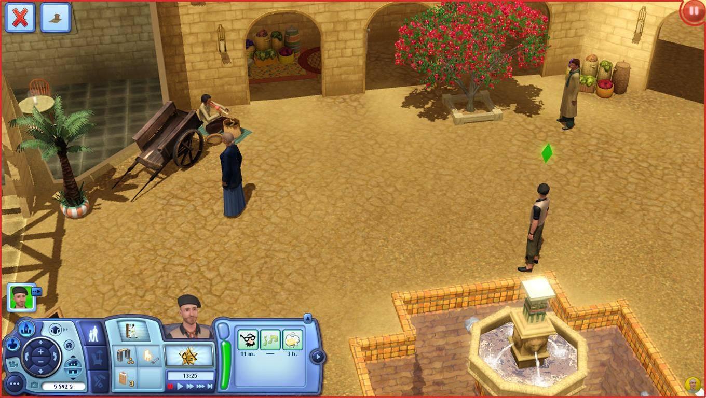 the sims 3 cestovni horecka