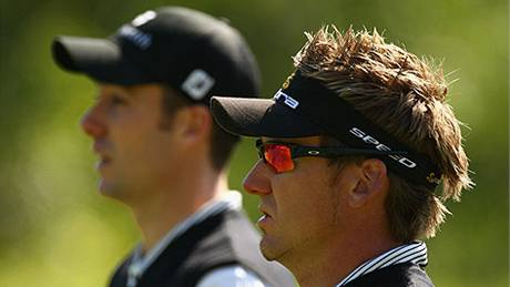 Ian Poulter a Ross Fisher, World Cup