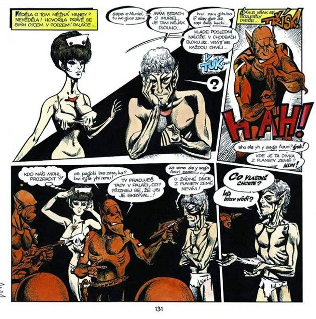 Otrokyně porno komiksy