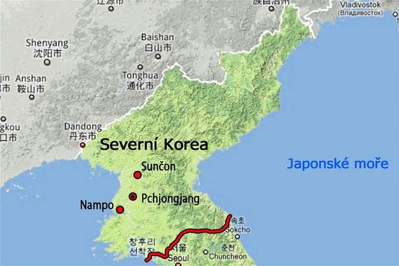 severna koreja mapa Fotogalerie: mapa Severní Koreje severna koreja mapa