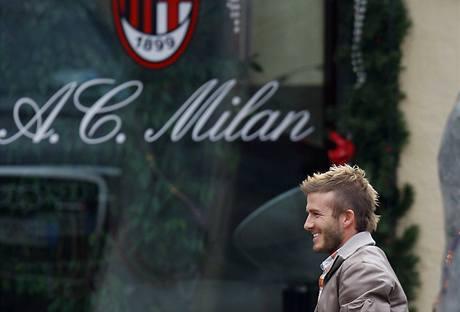 David Beckham se vrátil do AC Milán