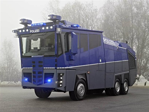 Mercedes-Benz Actros Water Cannon 10000