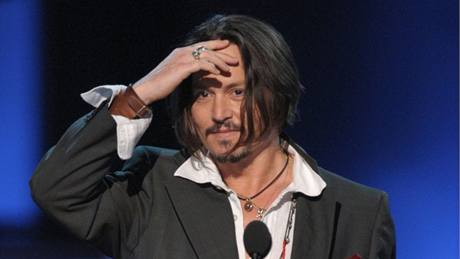 z předávání People's Choice Awards 2010 (Johnny Depp)