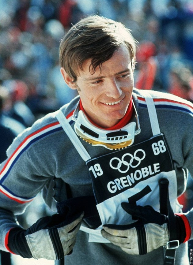 Jean-Claude Killy  v Grenoblu.