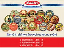 Etikety ze sbírky Laktos Collection