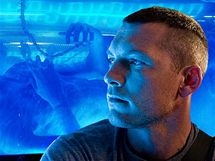 Sam Worthington ve snímku Avatar