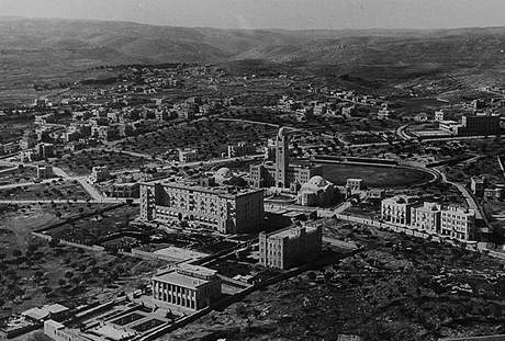 Hotel King David v Jeruzalémě, rok 1931