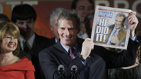 Republikán Scott Brown v Massachusetts (19. ledna 2010)
