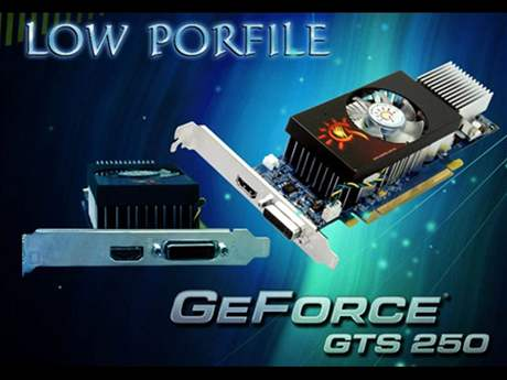 Sparkle GeForce GTS 250 Low Profile