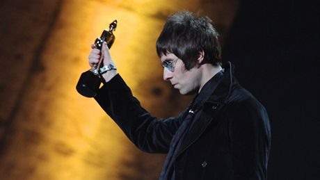 Brit Awards 2010 - Liam Gallagher (Oasis)