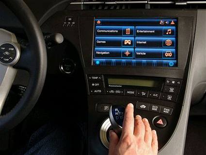 Prius Connected Car
