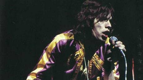 Mick Jagger (Rolling Stones) v roce 1972