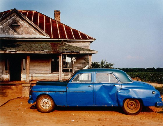 House and Car, nedaleko Akronu, Alabama, 1978