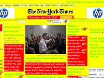 The New York Times (a la Geocities)