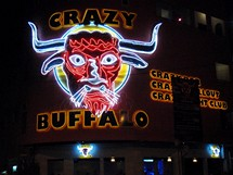 Vietnam, Saigon. Crazy Buffalo Bar