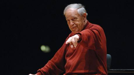 Pierre Boulez a Ensemble intercontemporain