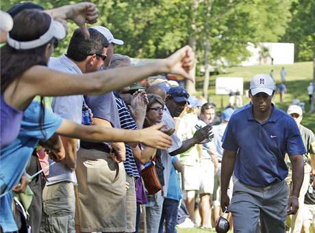 Tiger Woods, Quail Hollow Championship, 2. kolo