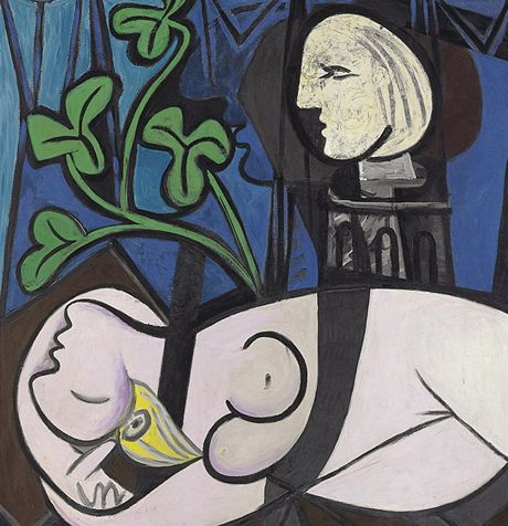 Pablo Picasso - Nude Green Leaves, and Bust