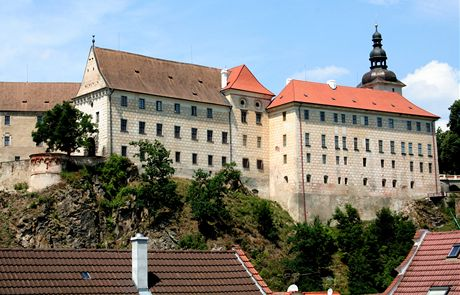 Bechyňský zámek tvoří nepřehlédnutelnou dominantu