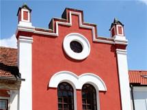 Bechyně, průčelí bývalé synagogy – dnes Muzeum turistiky