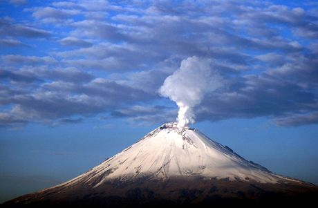 Mexiko, Popocatepetl