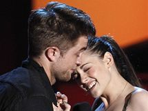 Kristen Stewartová a Robert Pattinson na MTV Movie Awards