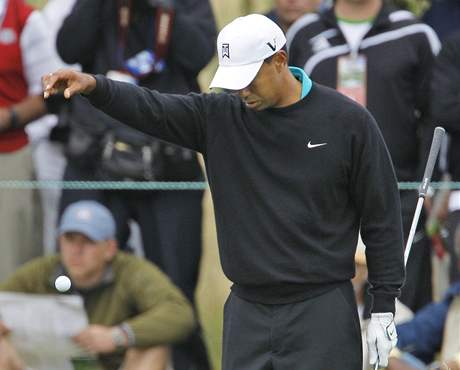 Tiger Woods, US Open, Pebble Beach, 2. kolo