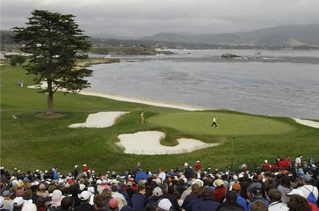 US Open, Pebble Beach, 2. kolo