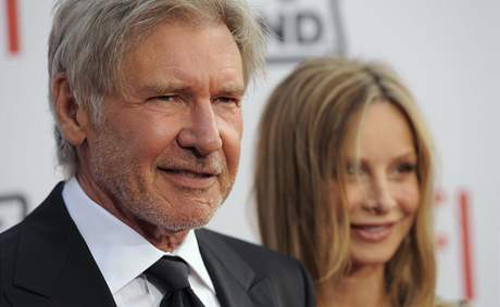 Harrison Ford a Calista Flockhartová