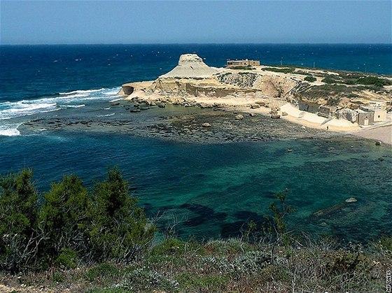 bbb92cb0c32 Moře na Maltě je průzračně čisté