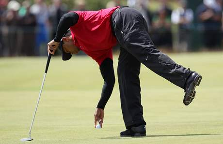 Tiger Woods, British Open, St. Andrews, 4. kolo