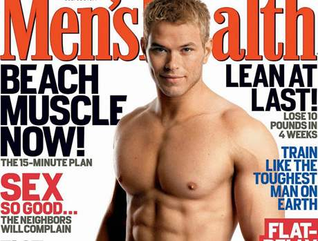 Model a herec Kellan Lutz