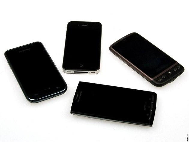 Apple iPhone 4 vs. HTC Desire vs. Samsung Galaxy S vs. Sony Ericsson Xperia X10