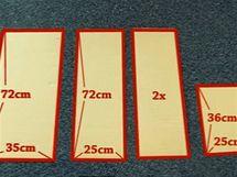 ebe73d488bf4 Najděte si starou lepenkovou krabici Vyrobte jedenkrát největší díl