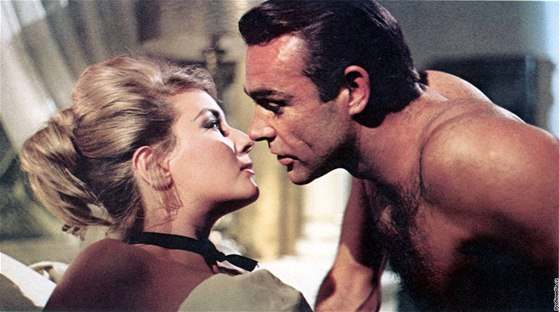 Sean Connery v bondovce Dr. No