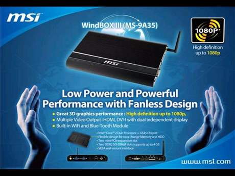 MSI WindBOX III